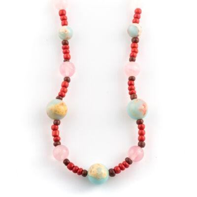 kristály nyaklánc